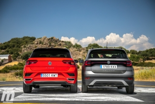 Galería comparativa VW T-Cross vs VW T-ROC Foto 41