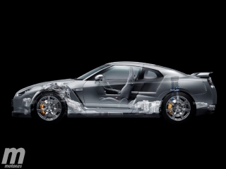 Galería Nissan GT-R R35 2007, fotos de la nueva generación Foto 83