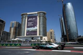 Fotos GP Azerbaiyán F1 2017