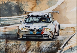 """Blue Coffee"" en ""Heroes of Bavaria 75 Years of BMW Motorsport"" Foto 20"
