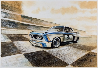 """Blue Coffee"" en ""Heroes of Bavaria 75 Years of BMW Motorsport"" Foto 21"