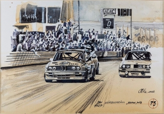 """Blue Coffee"" en ""Heroes of Bavaria 75 Years of BMW Motorsport"" Foto 22"