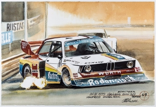 """Blue Coffee"" en ""Heroes of Bavaria 75 Years of BMW Motorsport"" Foto 64"