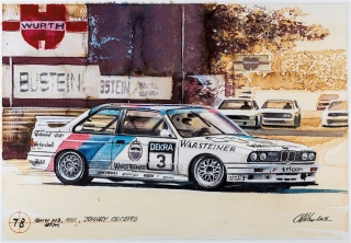 """Blue Coffee"" en ""Heroes of Bavaria 75 Years of BMW Motorsport"" Foto 79"