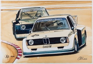 """Blue Coffee"" en ""Heroes of Bavaria 75 Years of BMW Motorsport"" Foto 82"