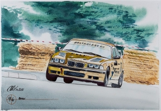 """Blue Coffee"" en ""Heroes of Bavaria 75 Years of BMW Motorsport"" Foto 84"