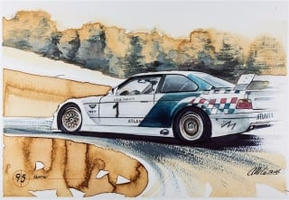 """Blue Coffee"" en ""Heroes of Bavaria 75 Years of BMW Motorsport"" Foto 87"