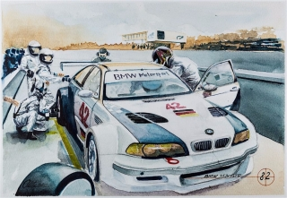 """Blue Coffee"" en ""Heroes of Bavaria 75 Years of BMW Motorsport"" Foto 90"