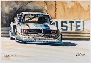 """Blue Coffee"" en ""Heroes of Bavaria 75 Years of BMW Motorsport"" Foto 92"