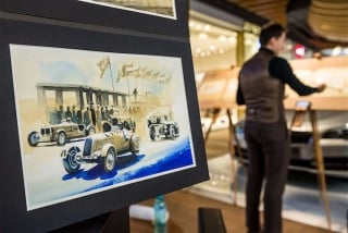 """Blue Coffee"" en ""Heroes of Bavaria 75 Years of BMW Motorsport"" Foto 106"