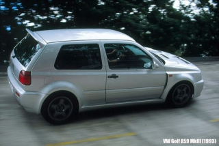 Historia Volkswagen Golf GTI Foto 12