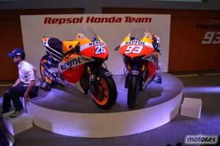 HONDA RC2013V: La nueva moto de Pedrosa y Márquez