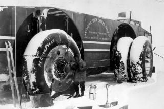 La increíble historia del Antarctic Snow Cruiser Foto 39