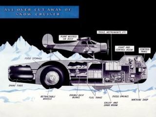La increíble historia del Antarctic Snow Cruiser Foto 44