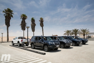 Foto 2 - Land Cruiser 2018, presentación internacional en Namibia