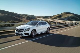 Mercedes GLA y GLA45 AMG 2017 Foto 1