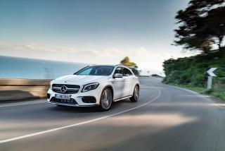 Mercedes GLA y GLA45 AMG 2017 Foto 7