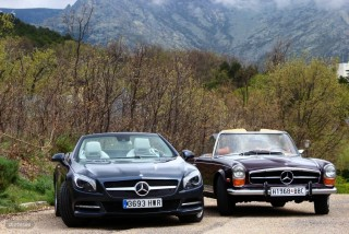 Mercedes Pagoda vs SL 500 Foto 50