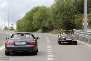 Mercedes Pagoda vs SL 500 Foto 55