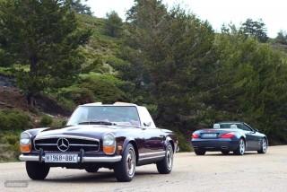 Mercedes Pagoda vs SL 500 Foto 61