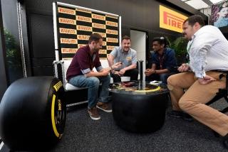 Neumáticos Pirelli F1 2017 Foto 13