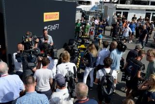 Neumáticos Pirelli F1 2017 Foto 9