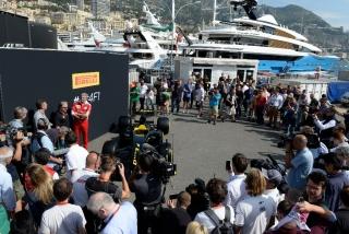Neumáticos Pirelli F1 2017 Foto 10