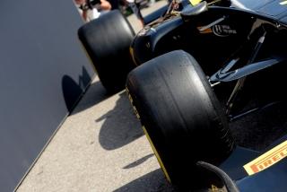 Neumáticos Pirelli F1 2017 Foto 4
