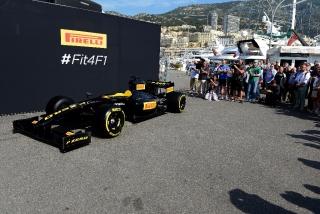 Neumáticos Pirelli F1 2017 Foto 6