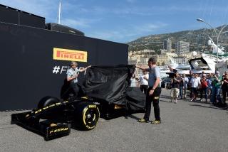 Neumáticos Pirelli F1 2017 Foto 5