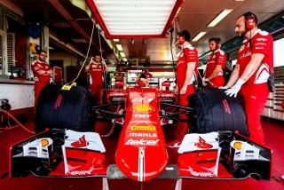 Neumáticos Pirelli F1 2017 Foto 21