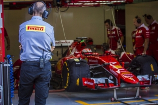 Neumáticos Pirelli F1 2017 Foto 34