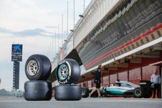 Neumáticos Pirelli F1 2017 Foto 46