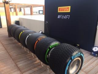 Neumáticos Pirelli F1 2017 Foto 63