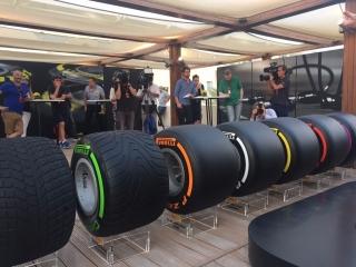 Neumáticos Pirelli F1 2017 Foto 64