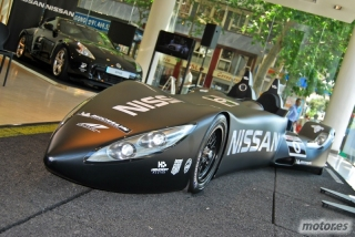 Nissan DeltaWing y Lucas Ordóñez Foto 1