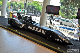 Nissan DeltaWing y Lucas Ordóñez Foto 10