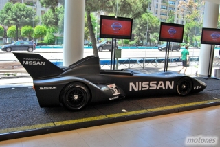 Nissan DeltaWing y Lucas Ordóñez Foto 11