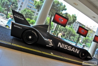 Nissan DeltaWing y Lucas Ordóñez Foto 12