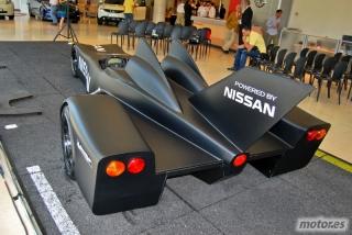 Nissan DeltaWing y Lucas Ordóñez Foto 13
