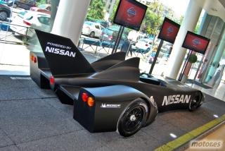 Nissan DeltaWing y Lucas Ordóñez Foto 19