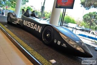 Nissan DeltaWing y Lucas Ordóñez Foto 2