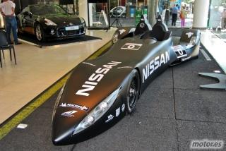 Nissan DeltaWing y Lucas Ordóñez Foto 24
