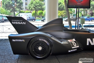 Nissan DeltaWing y Lucas Ordóñez Foto 27