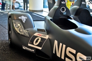 Nissan DeltaWing y Lucas Ordóñez Foto 3