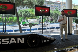 Nissan DeltaWing y Lucas Ordóñez Foto 31
