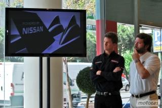 Nissan DeltaWing y Lucas Ordóñez Foto 36