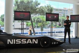 Nissan DeltaWing y Lucas Ordóñez Foto 40