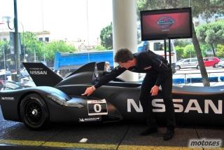 Nissan DeltaWing y Lucas Ordóñez Foto 42
