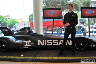 Nissan DeltaWing y Lucas Ordóñez Foto 43